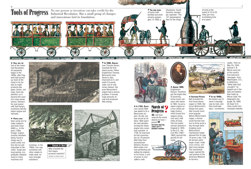 Timeline: Events and inventions during the Industrial Revolution