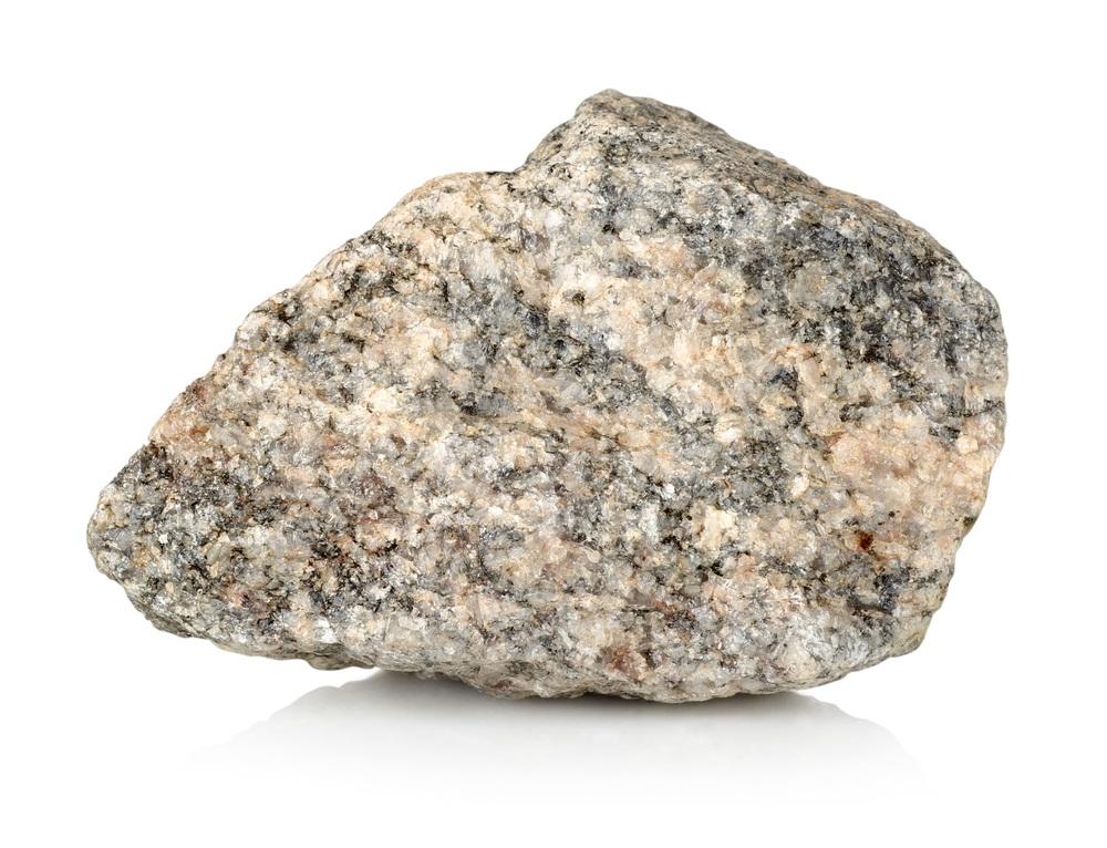Shiny White Rock Granite Rock The White