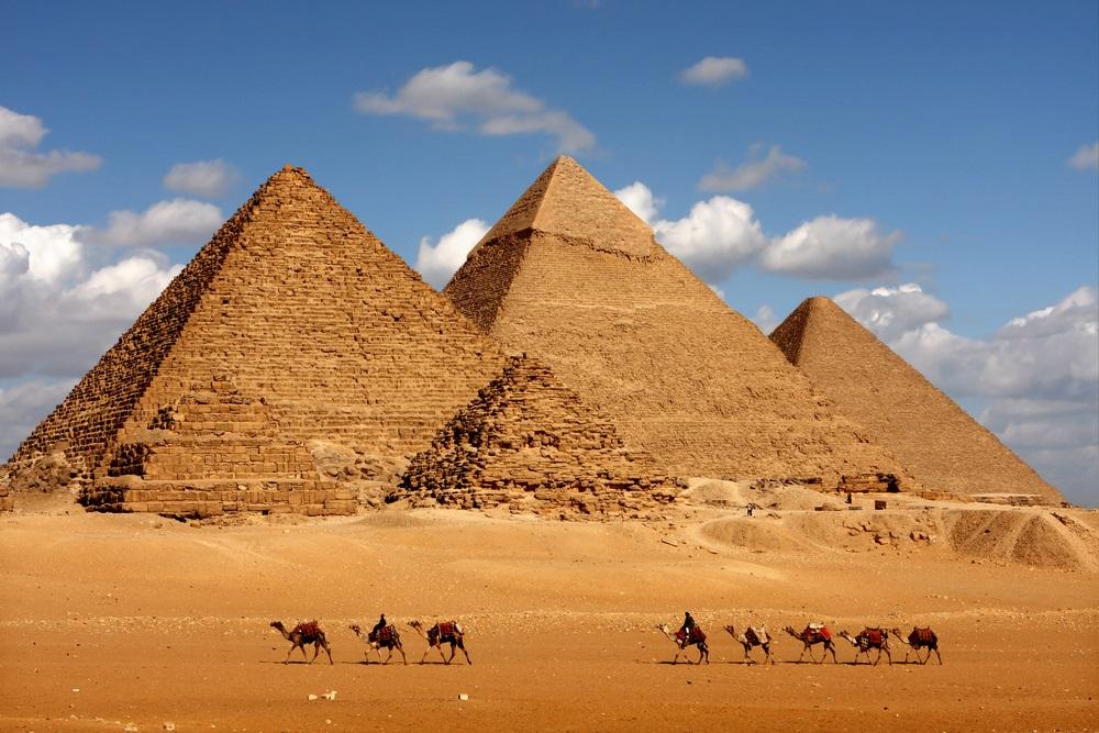 egyptian pharaohs pyramids