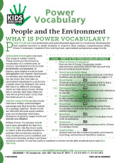 This free Vocabulary Packet for Kids Discover KD2: People and the Environment is a systematic and individualized approach to vocabulary development and enables teachers to assist students in improving their reading comprehension skills.